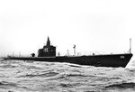 Sealion off Provincetown, Massachusetts, during trials, 6 Oct 1939