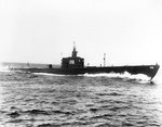 Searaven making full speed while running trials off Portsmouth, New Hampshire, United States, 13 May 1940, photo 2 of 3