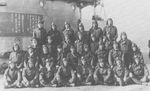 Group photo of the flight officers of Shokaku, 6 Dec 1941