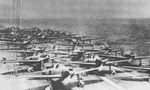 Aircraft prepared to launch from Shokaku to attack Pearl Harbor, US Territory of Hawaii, 7 Dec 1941, photo 2 of 3