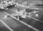 Aircraft prepared to launch from Shokaku to attack Pearl Harbor, US Territory of Hawaii, 7 Dec 1941, photo 3 of 3