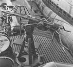 20 mm Oerlikon cannon aboard USS Tang, date unknown