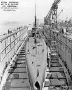 USS Trepang at Mare Island Naval Shipyard, California, United States, 3 Jul 1944, photo 2 of 2