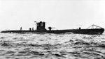 German submarine U-52 surfaced, date unknown