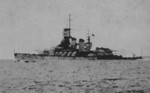 Damaged Vittorio Veneto after Battle of Matapan, late Mar 1941