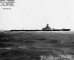Starboard side view of USS Wahoo, Mare Island Navy Yard, Vallejo, California, United States, 14 Jul 1943, photo 3 of 3