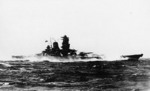 Yamato on trials, 30 Oct 1941, photo 1 of 4