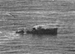 Yasoshima sinking west of Luzon, Philippine Islands, 25 Nov 1944