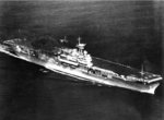 Carrier Yorktown undergoing builder