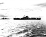 USS Yorktown anchored off Gonaives, Haiti following Fleet Problem XX, 23 Feb 1939