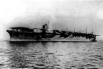 Zuikaku on her first day of service, 25 Sep 1941, photo 1 of 2