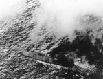 Zuikaku underway to Battle off Cape Engano, 25 Oct 1944
