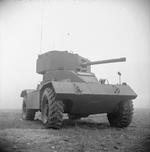 AEC Mk II armored car, Lulworth, England, United Kingdom, 25 Mar 1943