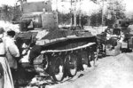Russian BT-5 tank in Finland during the Winter War, 1939-1940
