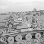 Covenanter tanks of 15th/19th The King