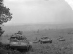Covenanter tanks on exercise in Britain, 20 Dec 1941