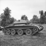 Cruiser Mk V Covenanter III tank, 31 Jul 1941