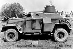Humber Light Reconnaissance Car Mk IIIA, date unknown, photo 2 of 3; note lack of weapons