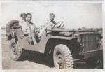 American Volunteer Group personnel on Ford GP vehicle, China, circa 1941