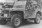 Bantam BRC 60 prototype vehicle under testing at Camp Borden, Ontario, Canada,1941