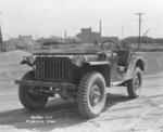 Bantam BRC 40 4x4 Light Reconnaissance Vehicle, Fort Holabird, Maryland, United States, Feb 1941