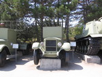 BM-13-16 Katyusha rocket launcher on a ZiS-12 chassis on display at Museum of Heroic Defense and Liberation of Sevastopol, Ukraine, 15 Aug 2007
