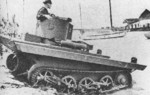 Vickers-Carden-Loyd A4E11 Light Amphibious Tank in the Dutch East Indies, 1930s