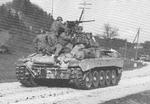 US Army M24 Chaffee light tank fighting in Salzburg, Austria, early May 1945
