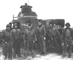 M3 medium tank number 309490 of D Company, 2nd Battalion, 13th Armored Regiment, US 1st Division at Souk el Arba, Tunisia, 23 Nov 1942, photo 1 of 3