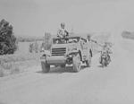 M3A1 Scout Car in exercise, Fort Riley, Kansas, United States, date unknown, photo 3 of 4