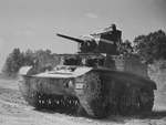 M3 light tank in training at Fort Knox, Kentucky, United States, Jun 1942, photo 4 of 4