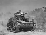 M3 light tank in training at Fort Knox, Kentucky, United States, Jun 1942, photo 2 of 4