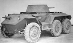 T22 prototype armored car, early 1940s