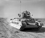 Matilda tank of the UK 7th Royal Tank Regiment in North Africa, 19 Dec 1940