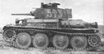 Panzer 38(t) light tank, date unknown, photo 1 of 3