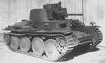 Panzer 38(t) Ausf E/F light tank, date unknown