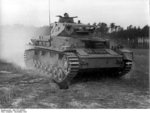 Panzer IV medium tank of German Panzergrenadier Division