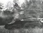 German Army SdKfz. 232 vehicle in the Ardennes Forest, France, May 1940; still from US War Department film