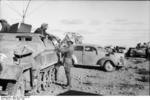 German SdKfz. 251/3 communications vehicle in North Africa, Apr 1941