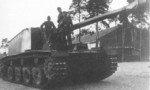 Sturer Emil heavy tank destroyer, 1941-1943