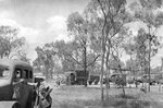 WC9 ambulances and other vehicles in a Charters Towers to Townsville convoy in Australia, Jan 1943