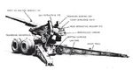 Illustration of 155 mm Gun M1 as seen in US War Department technical manual TM 9-350, 1 of 2