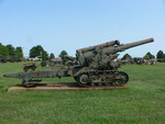 Soviet 203 mm Howitzer M1931 (B-4) field gun on display at US Army Ordnance Museum, Aberdeen Proving Ground, Maryland, United States, 14 Aug 2007