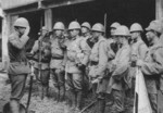Japanese soldiers in China, circa late 1937 to early 1938