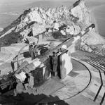 BL 9.2 inch Mk X coastal defense gun at Gibraltar, 4 Jan 1942