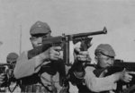 Chinese Red Army troops training with Thompson M1921 submachine guns, 1930-1937
