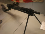 Japanese Type 11 light machine gun on display at the Hong Kong Museum of Coastal Defence, 24 May 2008