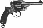 Japanese Army Type 26 revolver as seen in a US Army publication, circa 1940s