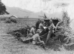 Japanese Type 38 75 mm field gun and crew, date unknown