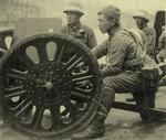 Japanese Type 94 anti-tank gun and crew in China, date unknown